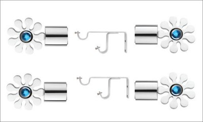 CME Blue Curtain Poles(Pack of 6)