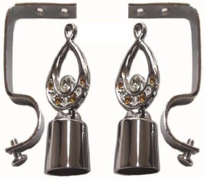 Anuriddhi Silver Rod Rail Bracket