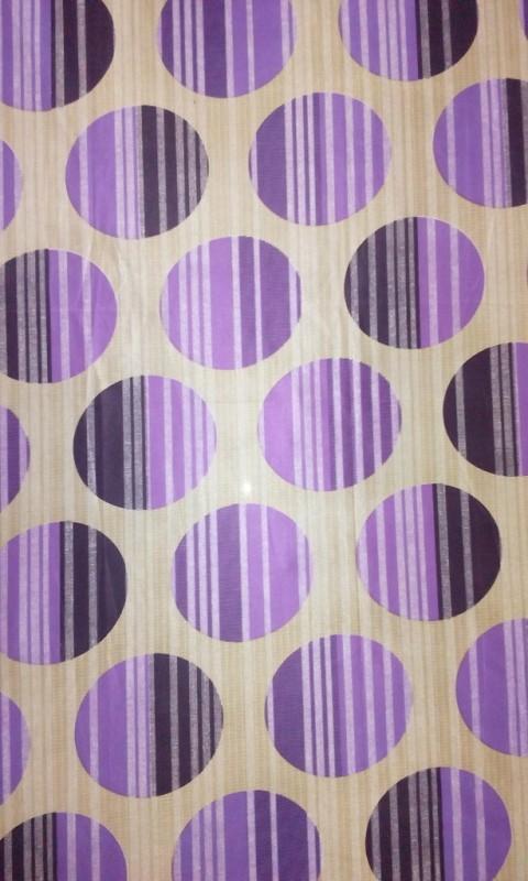 Cortina 20001 Curtain Fabric(Purple, 2 m)
