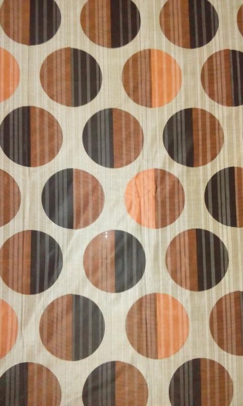 Cortina 20006 Curtain Fabric(Rust, 2 m)