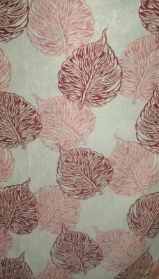 Cortina 5205 Curtain Fabric(Maroon, 8 m)