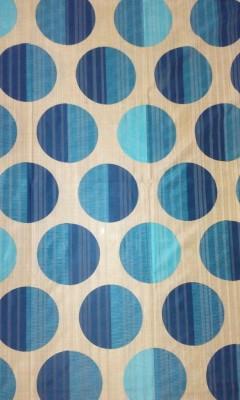Cortina 20015 Curtain Fabric(Blue, 8 m)