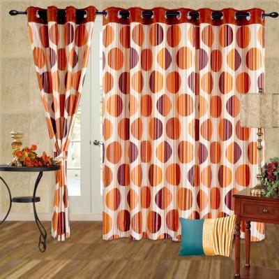 Cortina 5006 Curtain Fabric(Rust, 2 m)