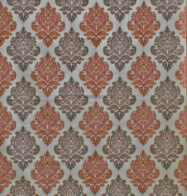 Kings JE04 Curtain Fabric(Multicolor, 2 m)
