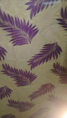 Cortina 5140 Curtain Fabric(Purple, 2 m)