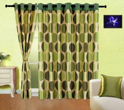 Cortina 5002 Curtain Fabric(Green, 2 m)