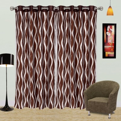 I Catch Blends Multicolor Striped Curtain Door Curtain