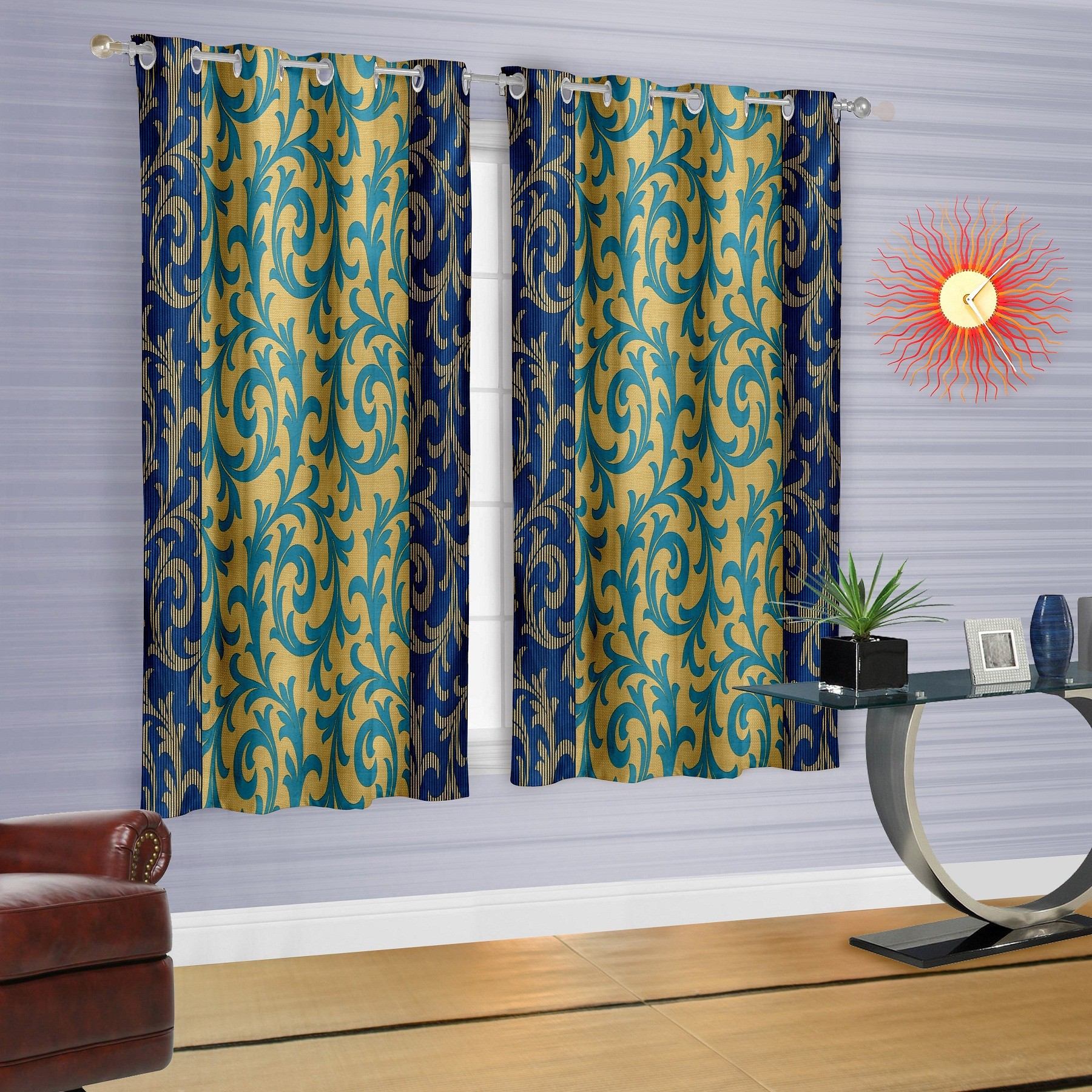 Flipkart - Set Of 2 Curtains Under ��'¹399