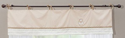 Little Lamb Cotton White Plain Curtain Window Curtain