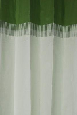 Rann Cotton Green Plain Curtain Window & Door Curtain