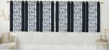 Stella Creations Polyester Black Printed...