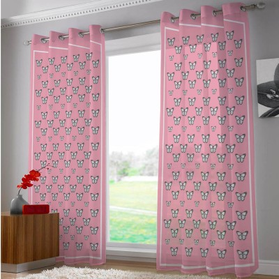 Right Polyester Riscurmc026 Animal Eyelet Door Curtain