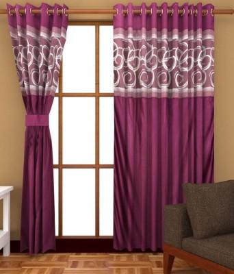 Jai Ganga Polyester Multi Colour Printed Curtain Door Curtain