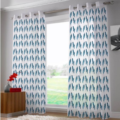 Right Polyester Riscurmc020 Abstract Eyelet Door Curtain