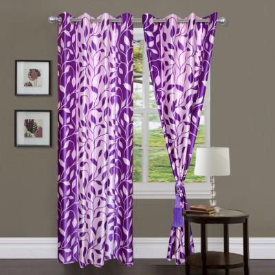 Shopgrab Polycotton Multicolor Printed Eyelet Window Curtain