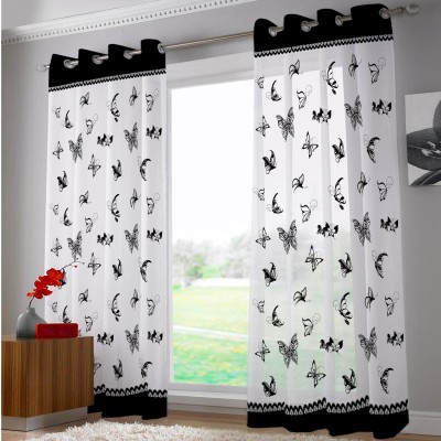 Right Polyester Riscurmc025 Animal Eyelet Door Curtain