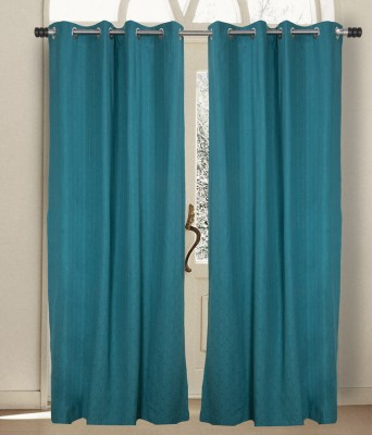 House This Cotton Green Motif Eyelet Window Curtain