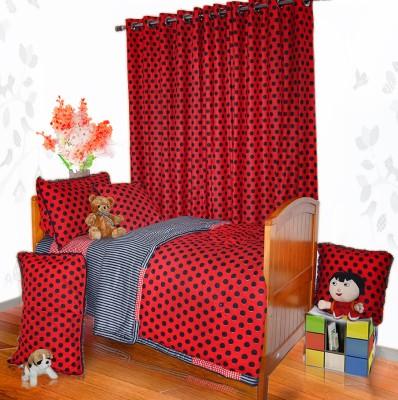 Aurraa Polka Single Dohar Red