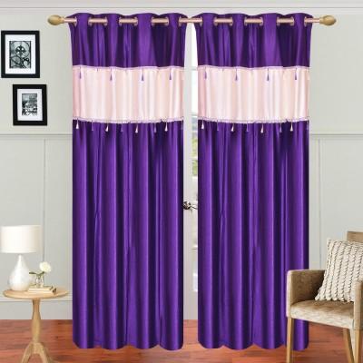 Dreamshomes Polyester Solid Rod pocket Door Curtain