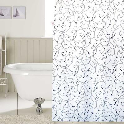 Freelance PVC Multicolor Printed Eyelet Shower Curtain