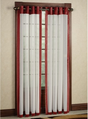 Curtains By Maya Designs Blends Multicolor Abstract Eyelet Door Curtain