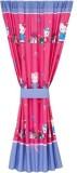 Sanrio Polyester Pink Plain, Printed Cur...