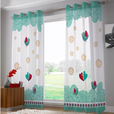 Right Polyester Riscurmc016 Abstract Eyelet Door Curtain