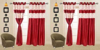 I Catch Blends Red Polka Curtain Door Curtain