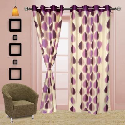 I Catch Blends Pink Polka Curtain Door Curtain