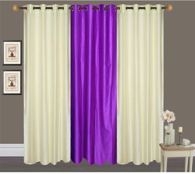 Canadian Icon Polyester Multicolor Plain Curtain Door Curtain