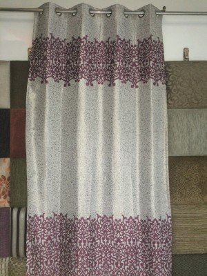 Royal Polyester Multicolor Abstract Curtain Door Curtain