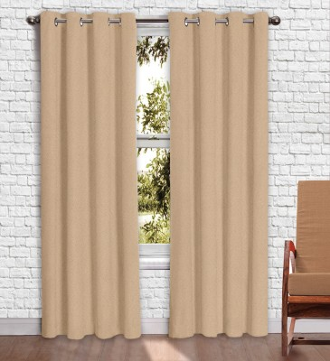 Story @ Home Jacquard Cream Printed Eyelet Window Curtain
