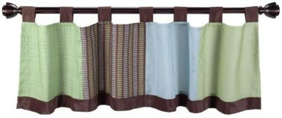 Lambs & Ivy Polyester Multicolor Embroidered Curtain Window Curtain