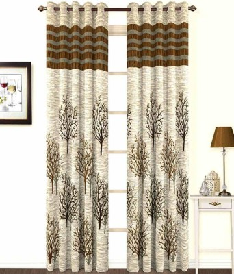 Skytex Polyester Multicolor Printed Curtain Long Door Curtain