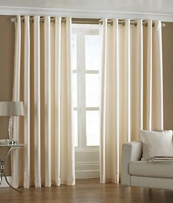 BSB Trendz Polyester Peach Plain Eyelet Door Curtain