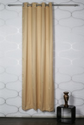 Homelife Polyester Multicolor Geometric Eyelet Door Curtain