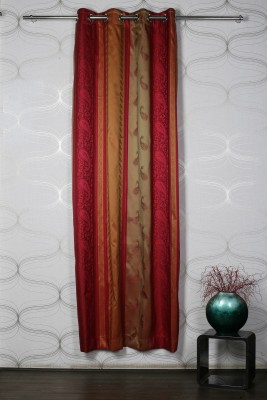 Homelife Polyester Multicolour Abstract Eyelet Door Curtain