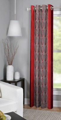 BSB Trendz Polyester Multicolor Floral Curtain Window Curtain