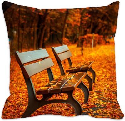 meSleep 3D Printed Cushions Cover(40.64 cm*40.64 cm, Multicolor)