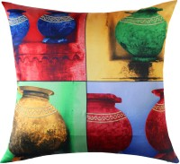 13 Odds Embroidered Cushions Cover(40 cm*40 cm, Multicolor)
