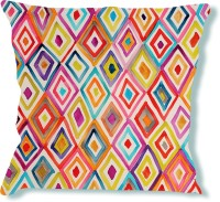La Verve Abstract Cushions Cover(40 cm*40 cm, Multicolor)