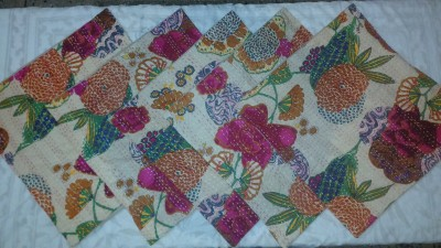 Miracle Furnishings Embroidered Cushions Cover