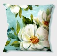 La Verve Floral Cushions Cover(40 cm*40 cm, Multicolor)