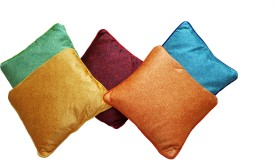Skhoza Abstract Cushions Cover(Pack of 5, 41 cm*41 cm, Multicolor)