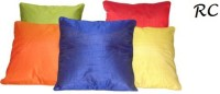 Ridhima Creations Embroidered Cushions Cover(Pack of 5, 40 cm, Multicolor)