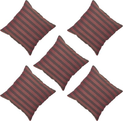 Veer Creations Striped Cushions Cover