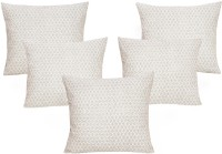 Curl Up Printed Cushions Cover(Pack of 5, 40 cm*40 cm, White)