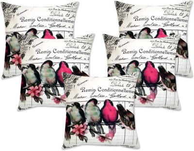 Story@home Geometric Cushions Cover(Pack of 5, 40 cm*40 cm, Multicolor)