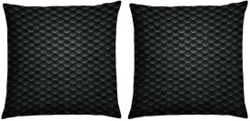 Magical Knots Checkered Cushions Cover(Pack of 2, 40 cm*40 cm, Multicolor)