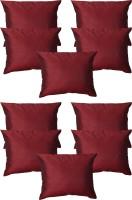 Home Shine Plain Cushions Cover(30 cm*30 cm, Maroon)